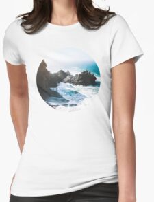 On The Edge Womens Fitted T-Shirt