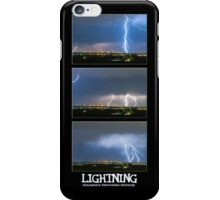 Lightning - Atmospheric Electrostatic Discharge. iPhone Case/Skin