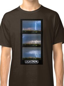 Lightning - Atmospheric Electrostatic Discharge. Classic T-Shirt
