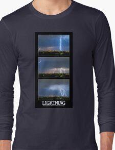 Lightning - Atmospheric Electrostatic Discharge. Long Sleeve T-Shirt