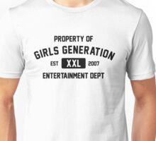 Property of Girl's Generation (Black Ver) Unisex T-Shirt