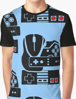 Gaming Collage Graphic T-Shirt