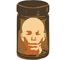 Head in a Jar Photographic Print