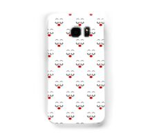 Pretty Face Repeating Pattern Samsung Galaxy Case/Skin