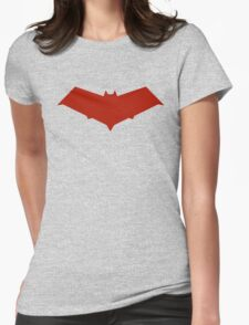 Red Hood Logo Womens Fitted T-Shirt