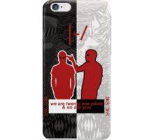 Twenty One Pilots Logo Blurryface iPhone Case/Skin