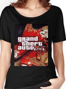 gta v Women's Relaxed Fit T-Shirt