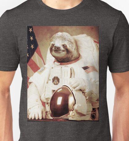 Sloth Astronaut (Slothstronaut) Unisex T-Shirt