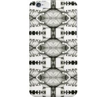 psychedelic pencil illustration iPhone Case/Skin