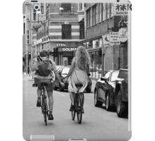 Copenhagen Lovers on Bicycles iPad Case/Skin