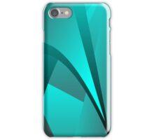 Cyan Spike Wave iPhone Case/Skin