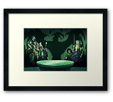 D&D Group Framed Print