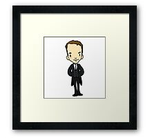 maybe the butler did it Framed Print