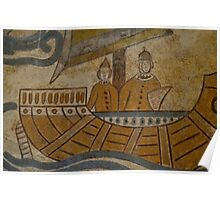 The Roman Boat Poster
