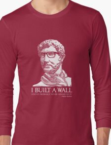 Hipster Hadrian Long Sleeve T-Shirt