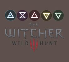 Witcher 3 - Signs One Piece - Short Sleeve