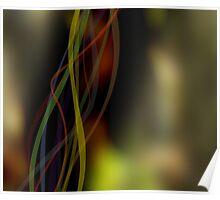 Fall Ribbons Poster