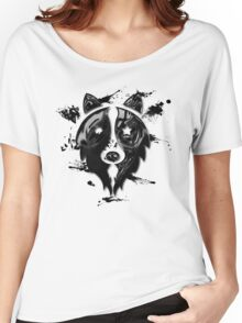 Liquid Melan-Collie Women's Relaxed Fit T-Shirt