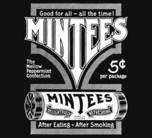 Mintees (White) Baby Tee