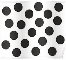 White- black Poster