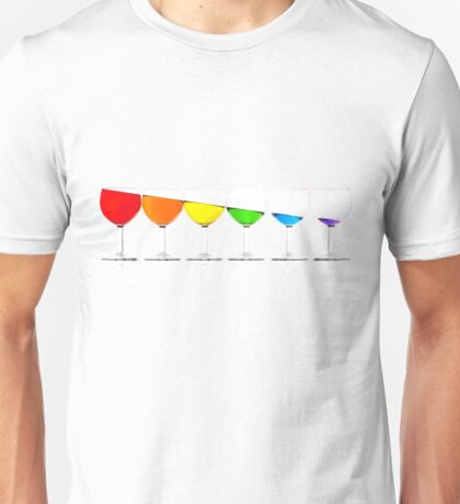 Downhill liquids - Ink Unisex T-Shirt