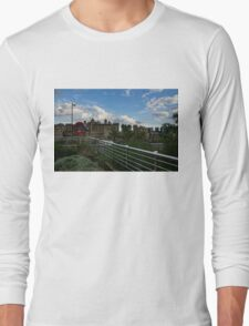 London Underground and the Tower of London Long Sleeve T-Shirt