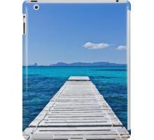 Summer blue sea iPad Case/Skin