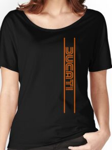 Ducati Vintage Motorcycle Italy Women's Relaxed Fit T-Shirt