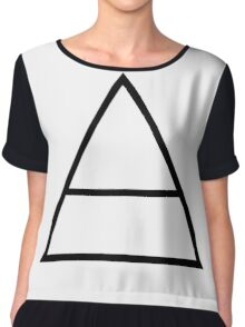 30 seconds to mars Chiffon Top