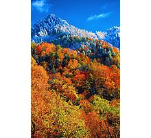 THE CHIMNEY TOPS AUTUMN Photographic Print