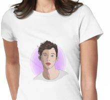 Troye Sivan - In his true angel form Womens Fitted T-Shirt