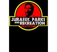 Jurassic Parks and Recreation Photographic Print