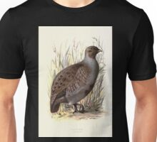 Familiar wild birds Swaysland 1883 V2 303 Partridge Unisex T-Shirt