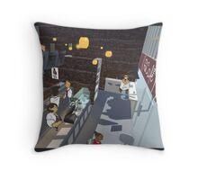 The Bar Throw Pillow