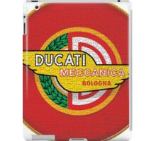 Ducati vintage motorcycle Italy iPad Case/Skin