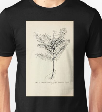 Southern wild flowers and trees together with shrubs vines Alice Lounsberry 1901 101 Canby's Mountain Lover Unisex T-Shirt