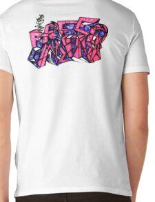 FREE MIND Mens V-Neck T-Shirt