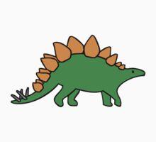 Cute Stegosaurus One Piece - Short Sleeve