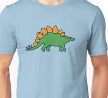 Cute Stegosaurus Unisex T-Shirt
