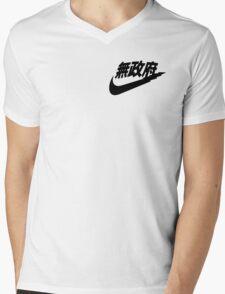 Swoosh Mens V-Neck T-Shirt