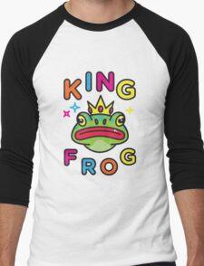 King Frog Men's Baseball ¾ T-Shirt