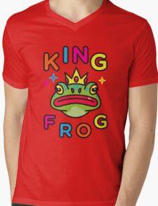 King Frog Mens V-Neck T-Shirt