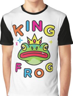King Frog Graphic T-Shirt
