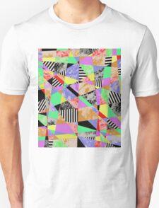 Pop Art Fragments - Abstract Unisex T-Shirt