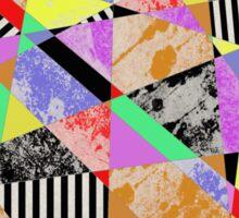 Pop Art Fragments - Abstract Sticker