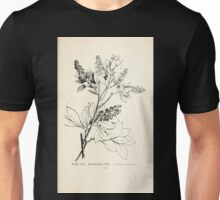 Southern wild flowers and trees together with shrubs vines Alice Lounsberry 1901 099 Buckwheat Tree Unisex T-Shirt