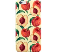 Watercolor peaches iPhone Case/Skin