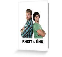RHETT AND LINK Greeting Card