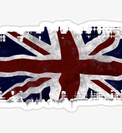 Patriotic Union Jack UK Union Flag Sticker