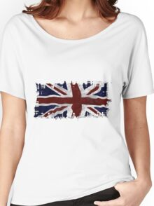 Patriotic Union Jack UK Union Flag Women's Relaxed Fit T-Shirt